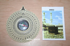 Islamic Qibla COMPASS Muslim PRAYER KIBLA Makkah KAABA DIRECTION FINDER Gift