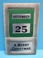 VTG 1900's EMBOSSED DECEMBER 25 - A MERRY CHRISTMAS PC POSTED EX CONDITION