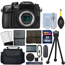 Panasonic Lumix DMC-GH4 16.05 MP 4K Digital Camera Body + 16GB Kit