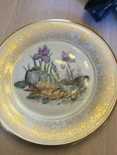 "Beautiful 10 1/2"" Lenox Bird Plate By Boehm 1979 Kinglets Boehm Birds"