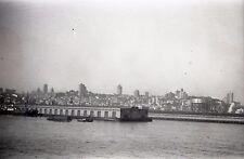 1930 McCormack Steamship Company Pier - Vintage B&W Negative