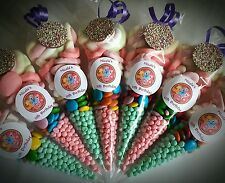 Pre Filled My Little Pony Sweet Cones Party Bags Birthday Personalised