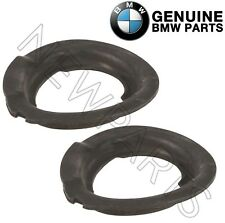 For BMW E39 E46 E85 Pair Set of 2 Front Lower Spring Pads Genuine 31331096664