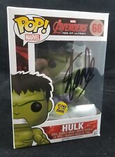Funko Pop Hulk #68 Avengers Signed By Stan Lee Autographed Glows In The Dark