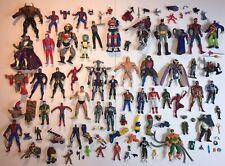 Vintage Misc Action Figure Toy Lot 80s 90s Marvel DC He Man Power Rangers Parts