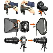 """Neewer 32x32"""" Softbox with S-type Speedlite Flash Bracket Mount for Photography"""