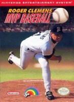 Roger Clemens' MVP Baseball Nintendo NES Game Used