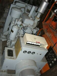 30 kw Detroit diesel 2-71 radiator cooled reconditioned engine Delco generator