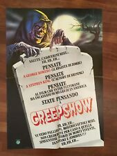 soggettone  HORROR  CREEPSHOW GEORGE A. ROMERO STEPHEN KING