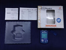 SEGA Dreamcast US Blue VMU Visual Memory Unit DC Japan HKT-7009 Complete Boxed