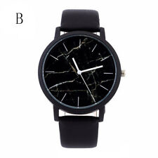 Men Luxury Stainless Steel Quartz Military Sport Leather Band Dial Wrist Watch C
