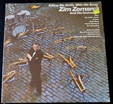 ZIM ZEMERAL & HIS ORCHESTRA-KILLING ME SOFTLY WITH HIS SONG-JAZZ-1973-SEALED LP