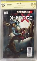 X-FORCE 23 CLAYTON CRAIN SIGNED 9.0 CBCS