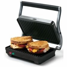 Salton SG1263 Panini Grill Stainless Steel