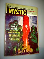 January 1954 Mystic Magazine #2 Occult The Devil's Empire by Raymond Palmer