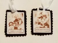 Religious Christian Scapular: Pledge of Salvation - Release from Purgatory