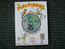 THE FUN FUNNEL.  DVD STORYTIME.  H/C - LN.  DEDICATION SIGNED BY AUTHOR