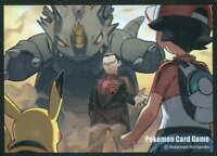 Pokemon center JAPAN - Giovanni vs Red card Deck Shields (64 Sleeves)