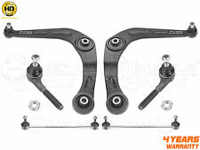 FOR PEUGEOT 206 FRONT AXLE LOWER SUSPENSION WISHBONE ARMS LINKS TRACK ROD ENDS