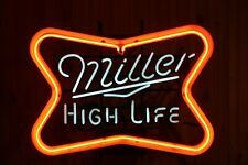 VINTAGE AUTHENTIC MILLER HIGH LIFE NEON BEER SIGN BAR TAVERN LOUNGE