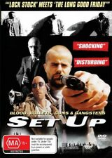 SET UP  - GANGLAND GUY RITCHIE STYLE MOVIE - NEW  DVD - FREE LOCAL POST