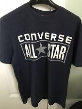 Converse Navy All Star Mens Small T Shirt