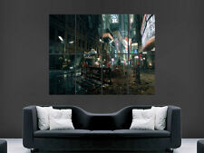 BLADE RUNNER SCI FI MOVIE ART WALL LARGE IMAGE GIANT POSTER