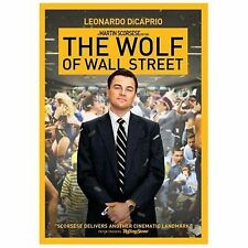 The Wolf of Wall Street (DVD, 2014) VG