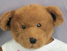 BIG BROWN BUILD A BEAR BIRTHDAY PARTY ANIMAL T-SHIRT PLUSH STUFFED ANIMAL