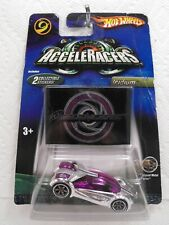 Rare! VHTF! Hot Wheels AcceleRacers IRIDIUM