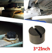 1Pcs Slotted Frame Rail Floor Jack Disk Pad Adapter For Pinch Weld Side JACK PAD