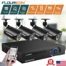 5 in 1 8CH 720P CCTV HD Outdoor Security Camera DVR Night Vision Home System Kit