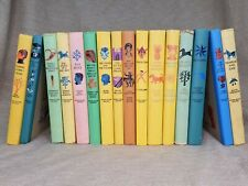 Vintage 1950s Children's Hardcover Book Collection Lot 16 Junior Deluxe Editions