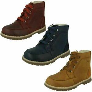 Boys Clarks Ankle Boots 'Heath Dash T'
