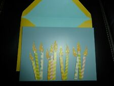 Papyrus Happy Birthday Card (glitter Candles)