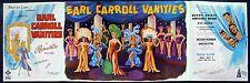 EARL CARROLL VANITIES 1945 Woody Herman Dennis O'Keefe TRADE ADVERT