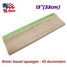 Us Stock 13 Silk Screen Printing Squeegee Scraper Scratch Board Waterbase 65
