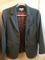 L.L. Bean Womans gray blazer size 8