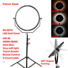 Falcon Eyes 60cm Round LED Light Panel Bi-Color Dimmable Ultra Thin Ultra Soft