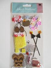 Jolee's Boutique 3D Stickers - Luau - Hawaii