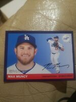 2020 Topps Archives MAX MUNCY 1955 Style Purple Variation #27 /175