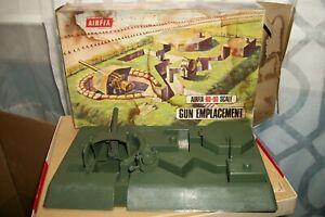 VTG AIRFIX-HO-00 SCALE GUN EMPLACEMENT