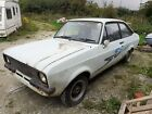 1980 FORD ESCORT MK2 2 DOOR 1600 SPORT PROJECT WITH ID SA IMPORT MAINLY COMPLETE
