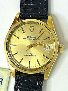 Tudor Prince Oysterdate 909071 Steel & Gold Automatic 33.00mm. Watch Year 1977