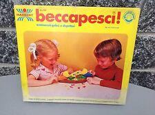 Vintage 1979 Harbert Beccapesci Nib Gioco In Scatola Becca I Pesci