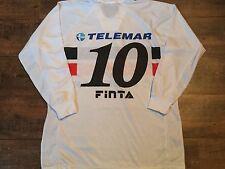 1999 2000 Santa Cruz L/S Maglietta Da Calcio #10 Adulti Grandi BRASILE Camisa Jersey