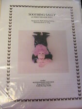 SOOTHING SALLY~BARB & DOUG KEELING~cloth art wrist rester doll pattern RARE 2002