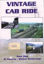 Vintage Cab Ride 1 Dvd: St Pancras Market Harborough Cricklewood Wellingborough