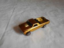 Hot Wheels Red line 1968 Custom Fleetside Gold version rare