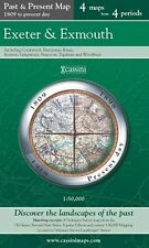 Exeter and Exmouth (Cassini Publish.Ltd.Past & Present(Sht.map,folded,2007)NEW